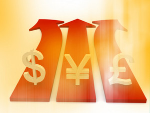 Business Finance Currency Path