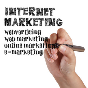 Business Hand Draw Internet Marketing