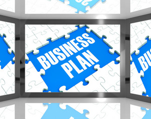 Business Plan On Screen Shows Marketing Strategies