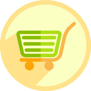 Business Trolley Icon
