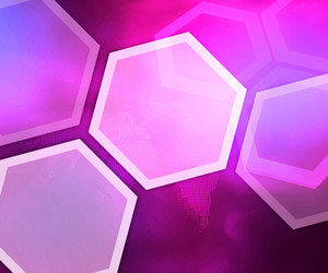 Business Violet Background Hexagon