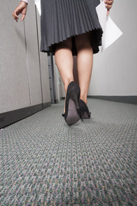 Business woman standing in office