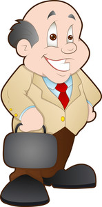 Businessman - Cartoon Character