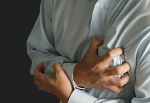 Businessman Has Heart Attack