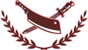 Butcher's Knife And Blade Sharpener