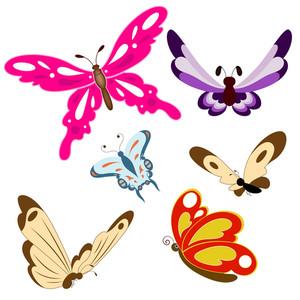 Butterflies Vectors
