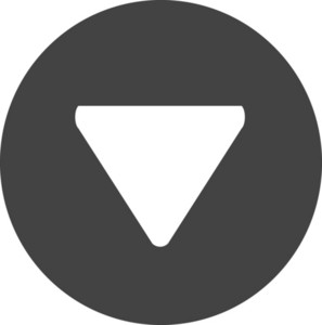 Button Down 1 Glyph Icon