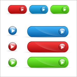 Buttons Vectors