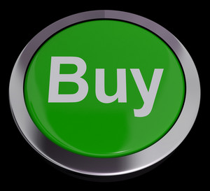 Buy Button For Commerce Or Retail Purchasing