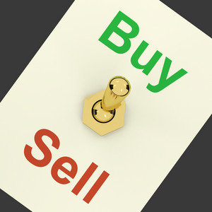 Buy Word Representing Business Trade And Purchasing