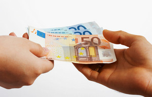 Buying Something In Euros Cash