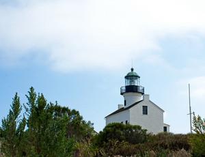 Cabrillo Monument Lighthouse San Diego California