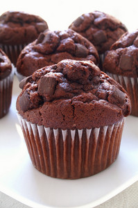Freshly Baked Chocolate Chip Muffins