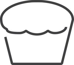 Cake Minimal Icon