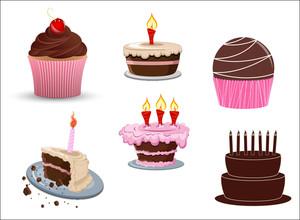 Cakes Vectors