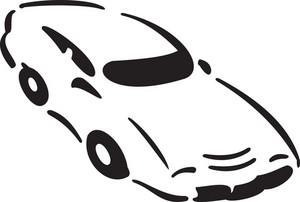 Illustration Of A Car.