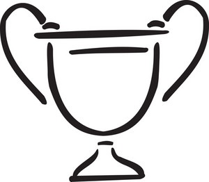 Illustration Of A Trophy.