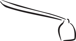 Illustration Of A Shovel.