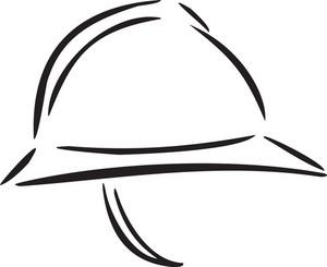 Illustration Of A Helmet.