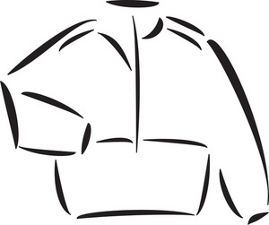 Illustration Of A Tracksuit.