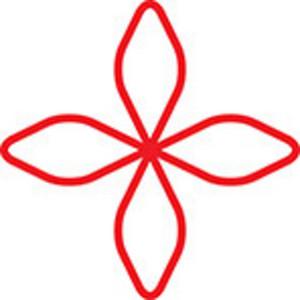 Design Element Of Flower.