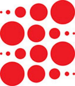 Design Element Of Dots.