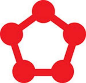 Design Element Of Pentagon Shape.