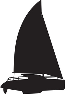 Sail Boat Silhouette