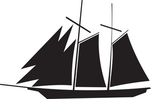 Sail Boat Silhouette