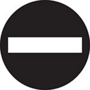 Do Not Enter Icon