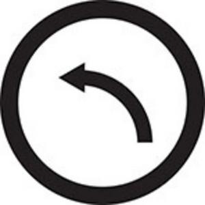 Bend Left Icon