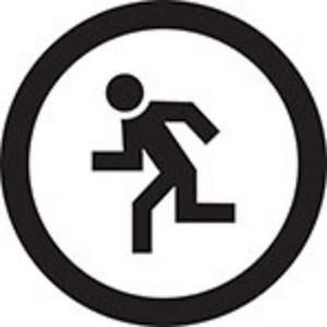Running Pedestrian