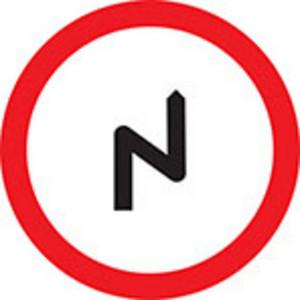 Sharp Turn Sign