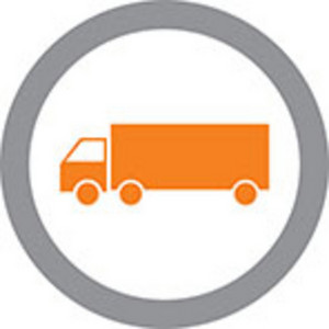 Tractor Trailer Icon