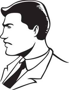 Illustration Of A Young Man.