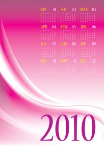 Calendar 2010 - 12 Months