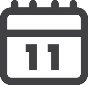 Calendar Day Stroke Icon