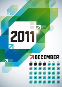 Calendar Design 2011 - December
