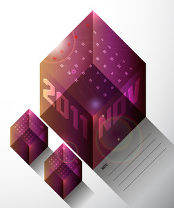 Calendar Design 2011 - November