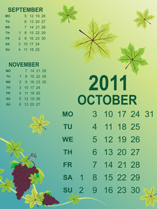 Calendar For New Year 2011
