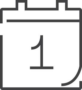 Calendar Minimal Icon