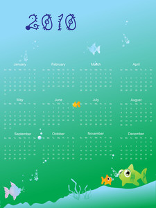 Calender For New Year Celebration