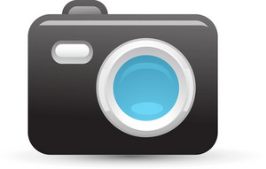 Camera Blue Lite Media Icon