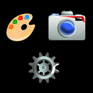 Camera Cog Palette
