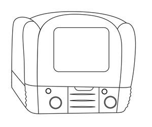Camera Drawing Vector Shape