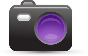 Camera Purple Lite Media Icon