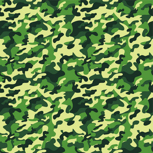 Green Camouflage Pattern