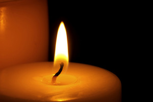 Candle Flame Close Up Background