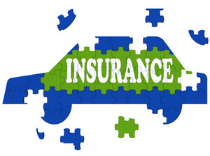 Car Insurance Shows Protection Against Accident