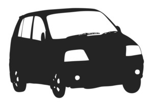 Car Shape Vector
